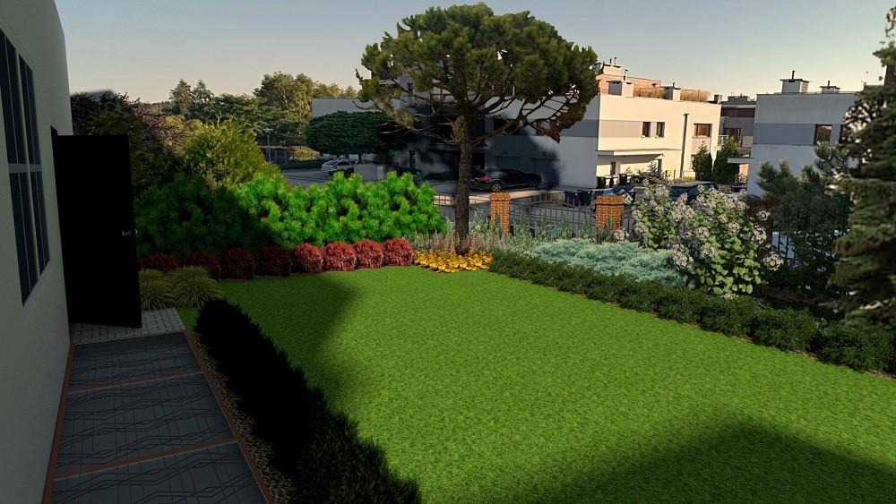 wizualizacja ogrodu poznań