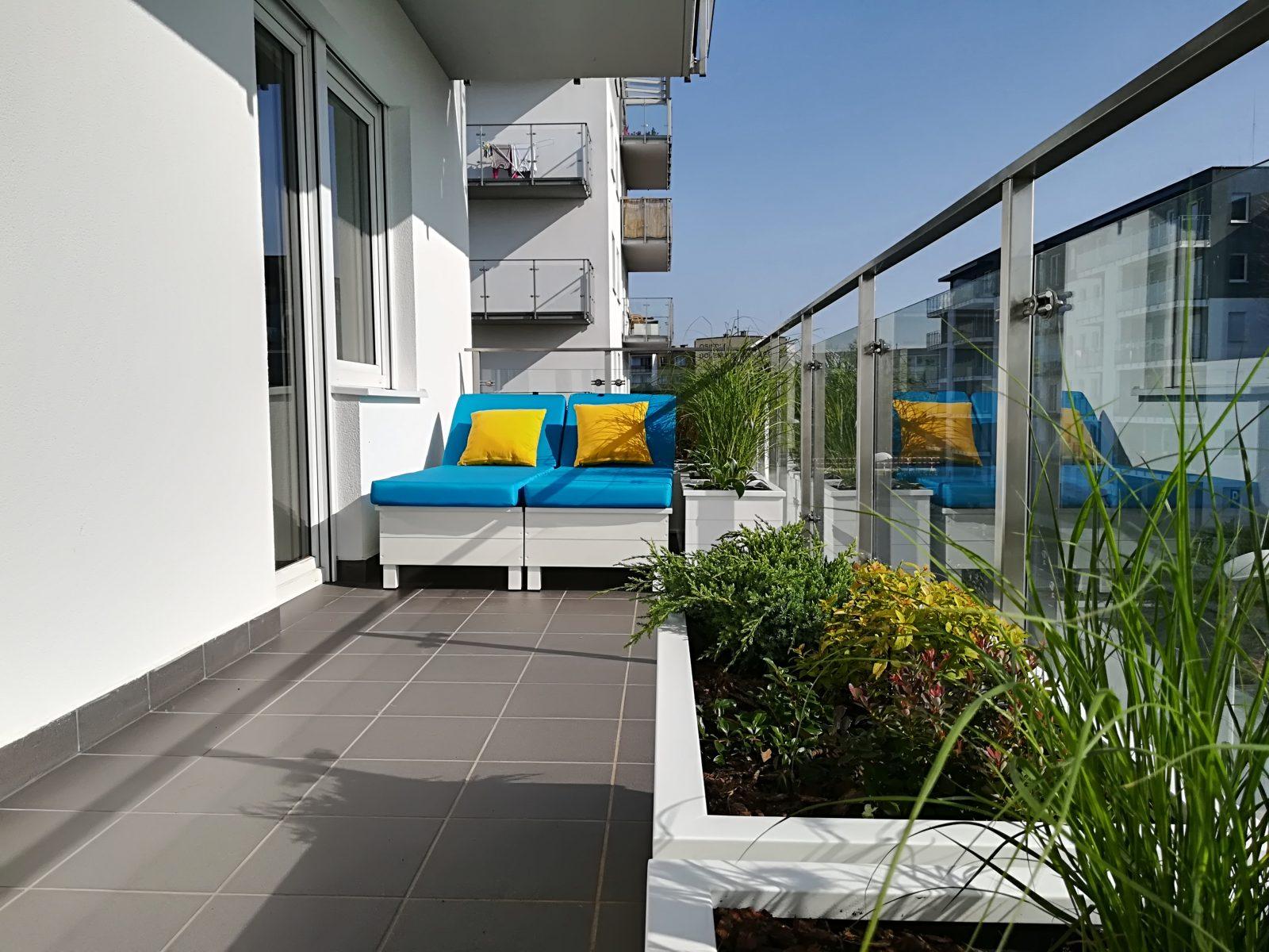 aranżacje balkonów poznań