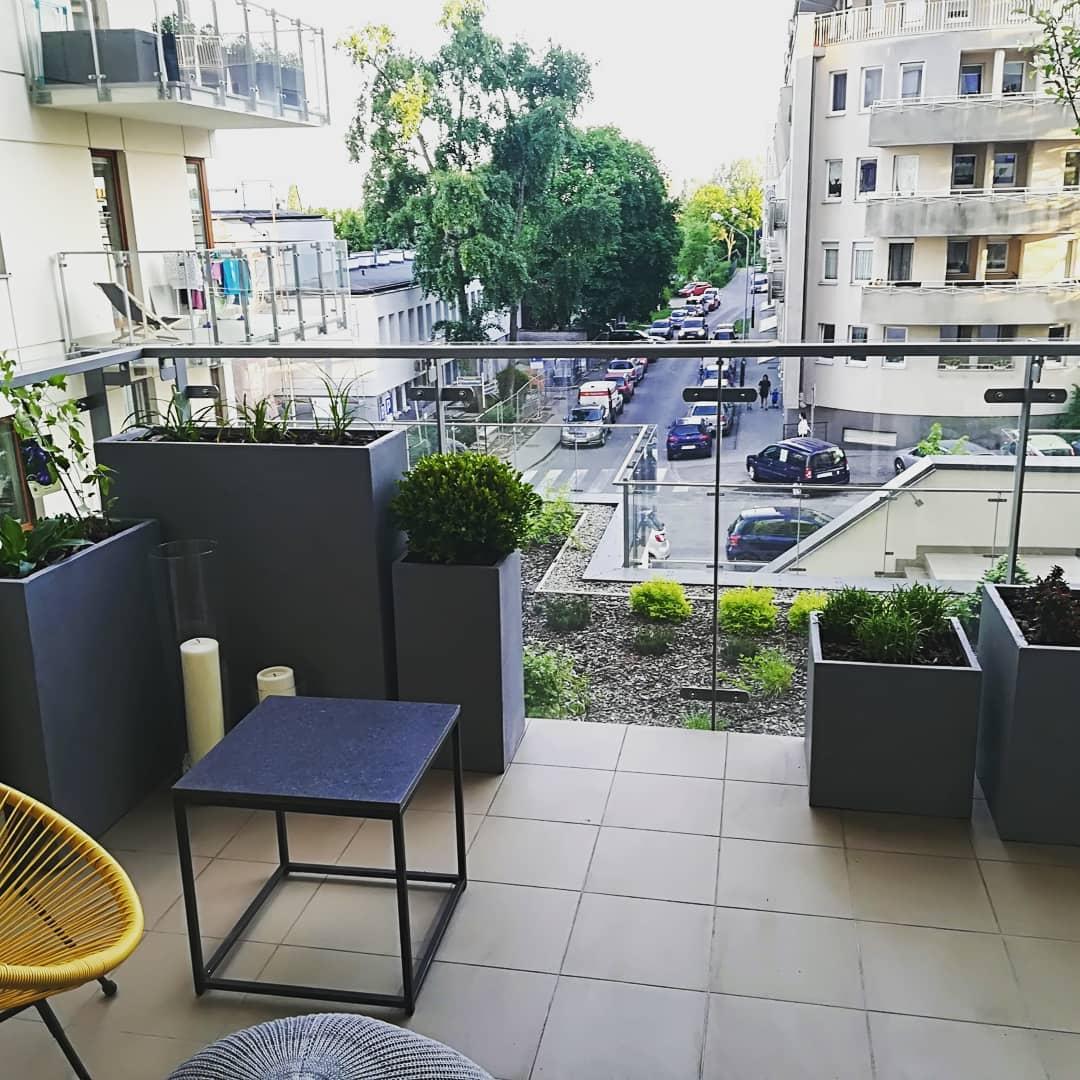 balkon zielony m2
